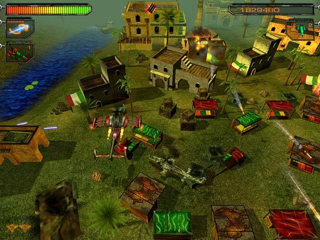 Air Strike II: Gulf Thunder Screenshot 2