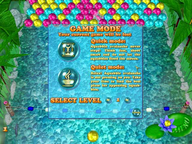Aquabble Avalanche Screenshot 3