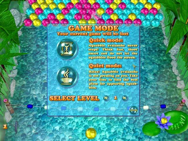 Aquabble Avalanche Screenshot 3