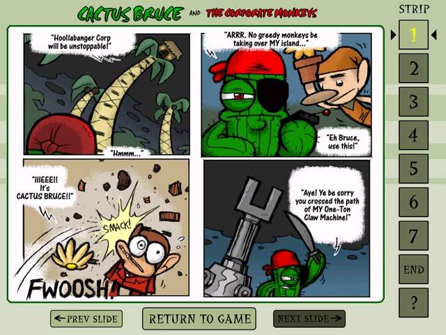 Cactus Bruce and the Corporate Monkeys Screenshot 2