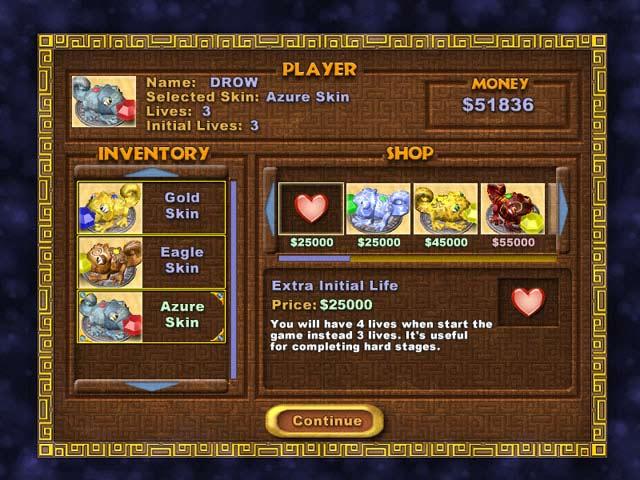 Chameleon Gems Screenshot 2