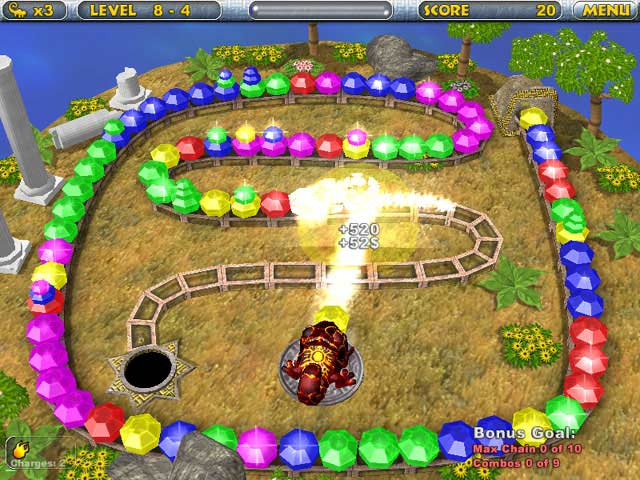 Chameleon Gems Screenshot 4