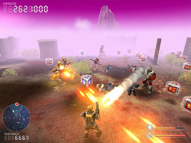 Devastation Zone Troopers Screenshot 1