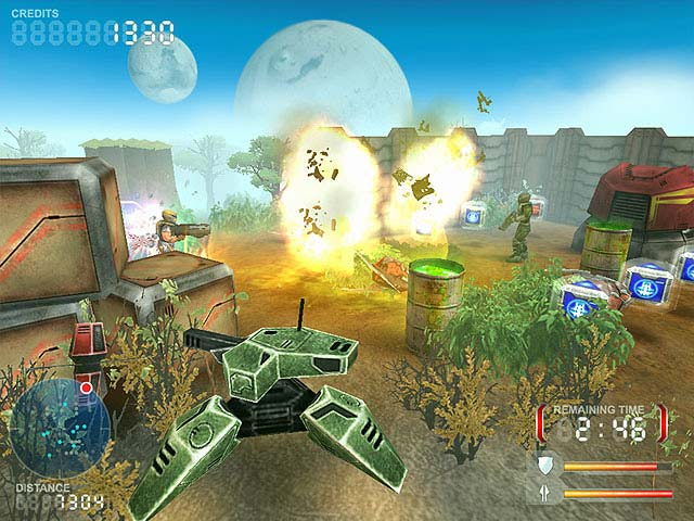 Devastation Zone Troopers Screenshot 2