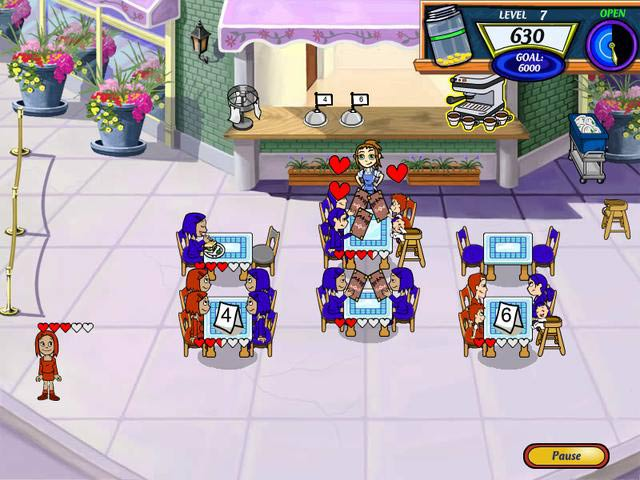 Diner Dash 2 Screenshot 1