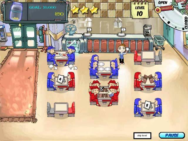 Diner Dash Screenshot 4