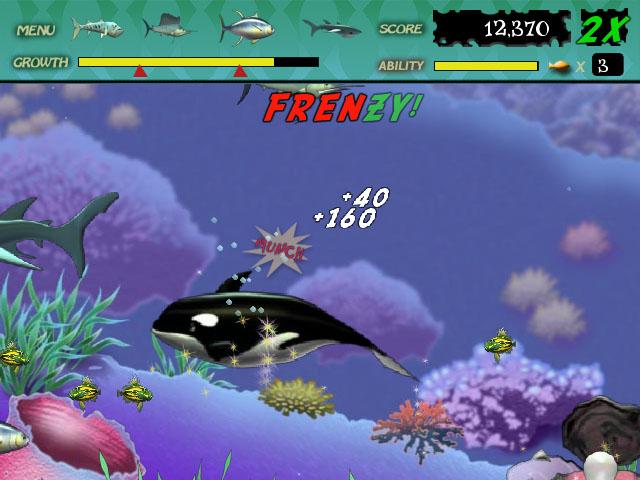 Feeding Frenzy Screenshot 1