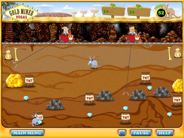Gold Miner: Vegas Screenshot 1