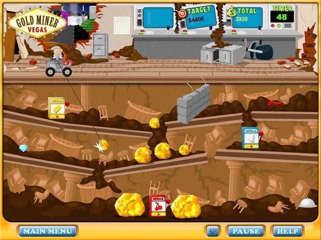 Gold Miner: Vegas Screenshot 4