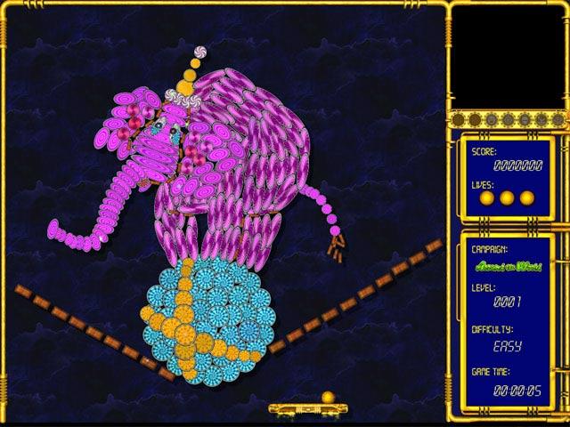 Hyperballoid: Around the World Screenshot 1