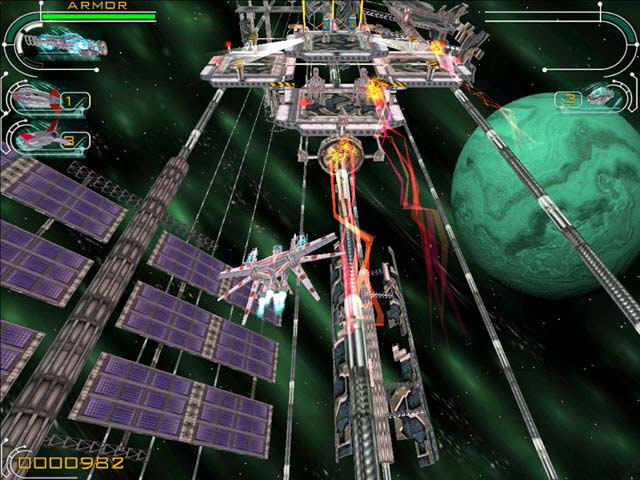 Hyperspace Invader Screenshot 2