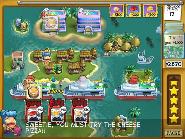 Pizza Frenzy Screenshot 1