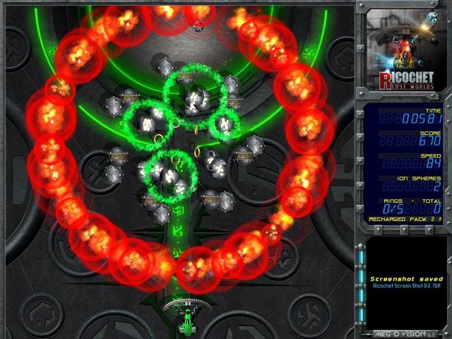 Ricochet Lost Worlds: Recharged Screenshot 2