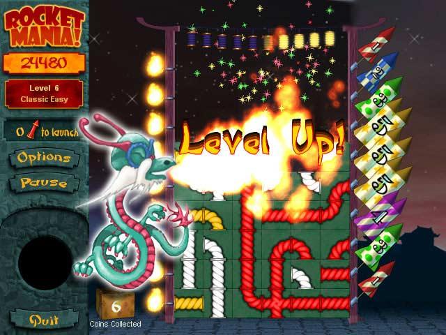 Rocket Mania Deluxe Screenshot 2