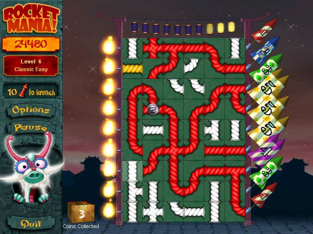 Rocket Mania Deluxe Screenshot 3
