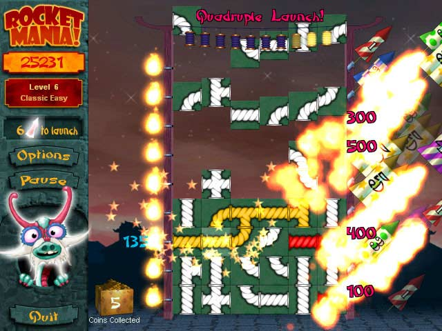 Rocket Mania Deluxe Screenshot 4