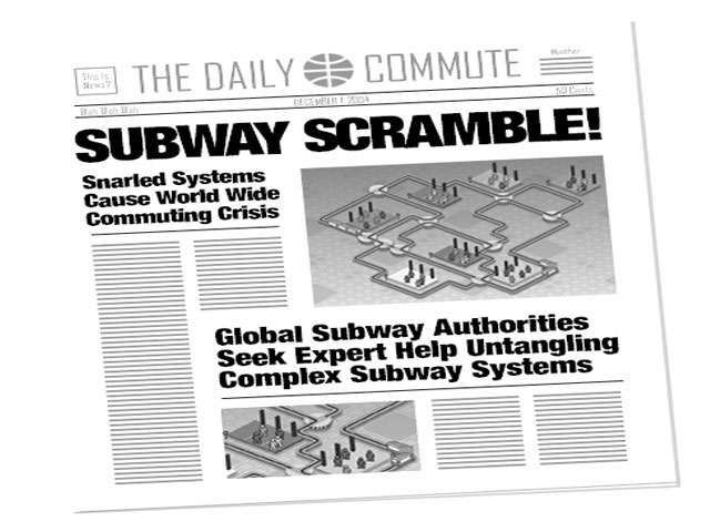 Subway Scramble Screenshot 1